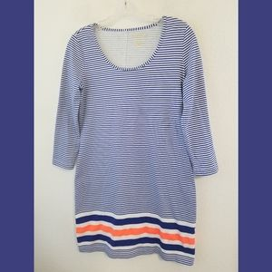 Lilly Pulitzer Beacon Striped Casual Dress XS